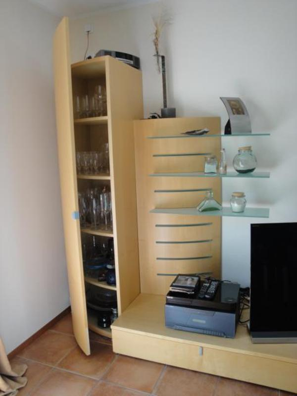 Wohnwand ahorn natur in mannheim wohnzimmerschr nke for Wohnwand 50 euro