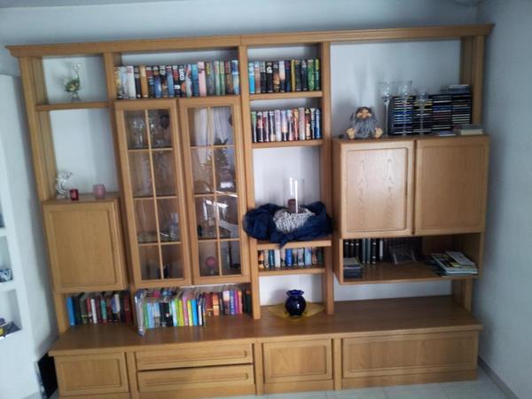 wohnwand von h lsta in karlsruhe wohnzimmerschr nke anbauw nde kaufen und verkaufen ber. Black Bedroom Furniture Sets. Home Design Ideas