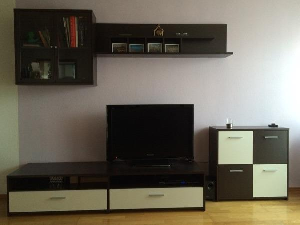 hallo biete hier hochwertige tv m bel sideboard l nge 186 h he 40 tiefe 52 schrank mit. Black Bedroom Furniture Sets. Home Design Ideas