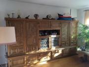 Wohnzimmerschrank Eiche massiv*