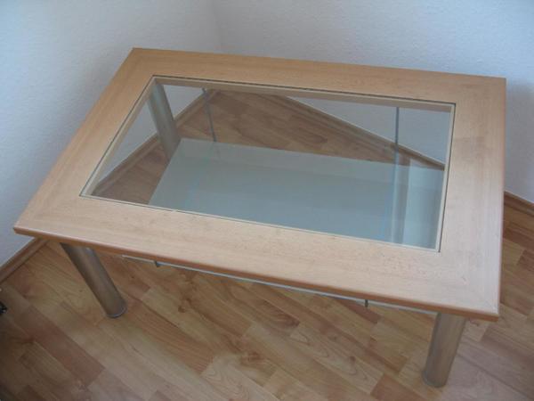 Wohnzimmertisch glasplatte gebraucht kaufen 2 st bis 70 for Wohnzimmertisch glasplatte