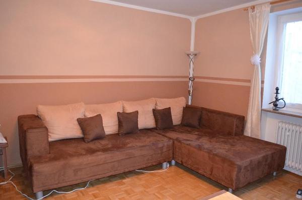 microfaser couch neu und gebraucht kaufen bei. Black Bedroom Furniture Sets. Home Design Ideas