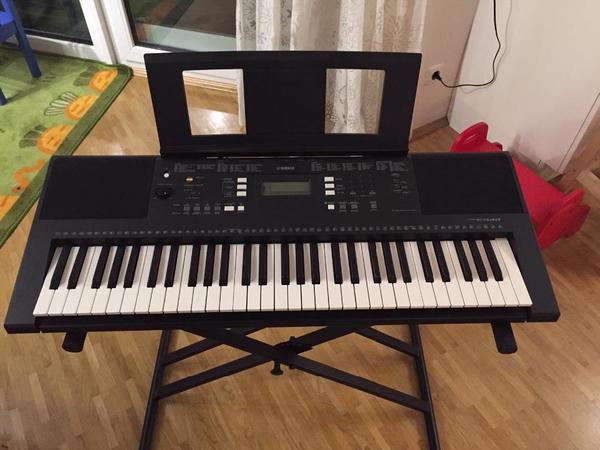 yamaha psr e343 keyboard 61 tasten in m nchen. Black Bedroom Furniture Sets. Home Design Ideas