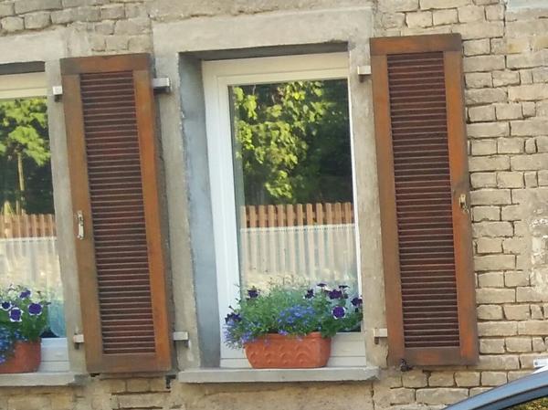 Zu verschenken 4 fensterl den lasiert in dalheim for Fenster zu verschenken