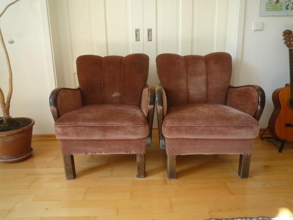 zwei antike sessel in hamburg polster sessel couch kaufen und verkaufen ber private. Black Bedroom Furniture Sets. Home Design Ideas