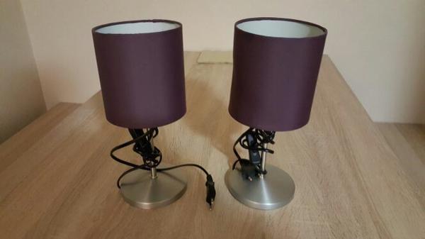 lampe lila kaufen gebraucht und g nstig. Black Bedroom Furniture Sets. Home Design Ideas