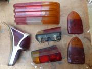 1 Rippen Rücklichtglas rechts Mercedes -