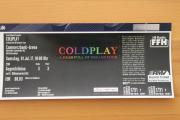 1 Ticket Coldplay