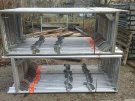 Sonstiges Material für den Hausbau - 184 m² gebrauchtes Alu Gerüst
