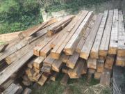 198 Holzbalken mit