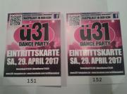 2 Eintrittskarten für