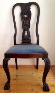 3 Chippendale Stühle