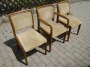 3 Gepolsterte Stühle