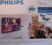 3 mal Philips 3D Brille