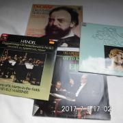4 Klassik Schallplatten