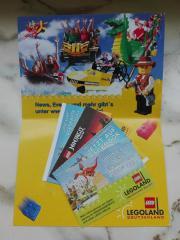 4x Eintrittskarten Legoland