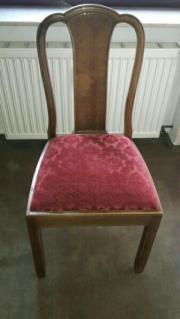 6 altdeutsche Stühle