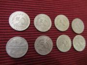 8 mal 50 Pfennig Deutsches