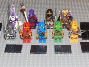 9 Minifiguren Ninjago