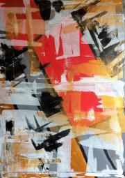 Abstract III 50x70x2cm