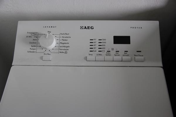 Aeg toploader waschmaschine zu verkaufen in nürnberg