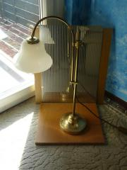 Alte Messing- Lampe
