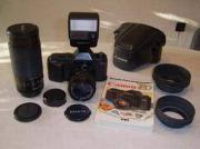 Analoge Spiegelreflexkamera Canon