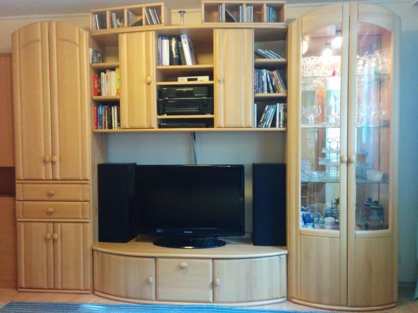 Anbauwand Wohnzimmer Buche Kaufen Gebraucht Dhd