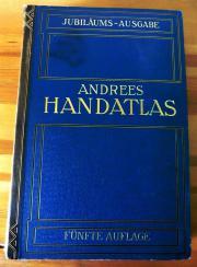 Andrees Handatlas - Jubiläumsausgabe