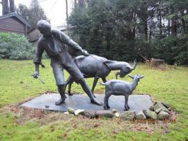 Kunst, Gemälde, Plastik - Ankauf Skulpturen - Kunst - Bronzefiguren - NRW -