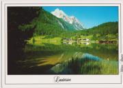 Ansichtskarte Lautersee Mittenwald
