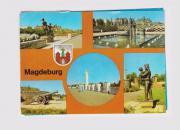 Ansichtskarte von Magdeburg in den