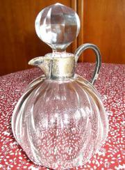 Antik Kristallglas Karaffe Kristall Glas Flasche