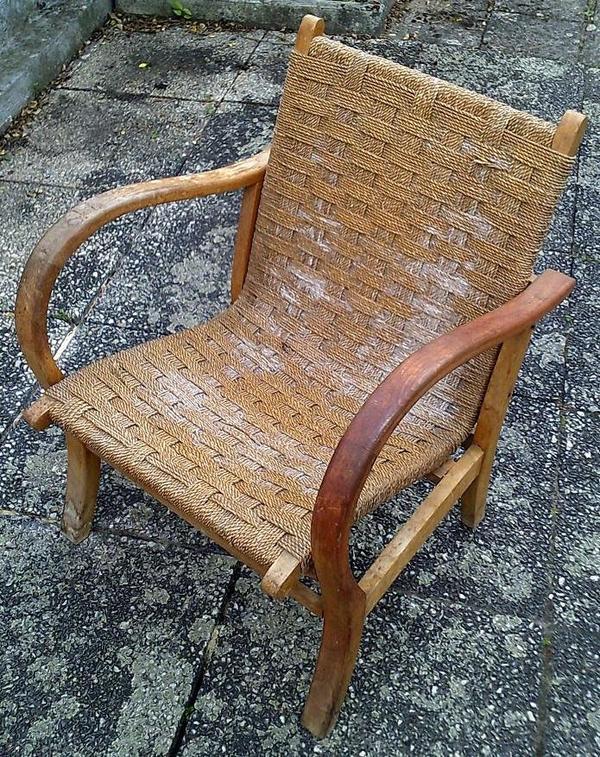 antik weimarer republik m bel garten oma korb flecht sessel 1930 40er jahre restauration objekt. Black Bedroom Furniture Sets. Home Design Ideas