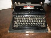 Antike Torpedo Schreibmaschiene