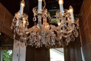 Antiker Kristall-Lüster Kronleuchter Maria Theresia