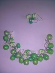 Armband mit Grünen