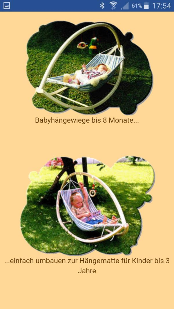 babyh ngematte in altach wiegen babybetten reisebetten kaufen und verkaufen ber private. Black Bedroom Furniture Sets. Home Design Ideas