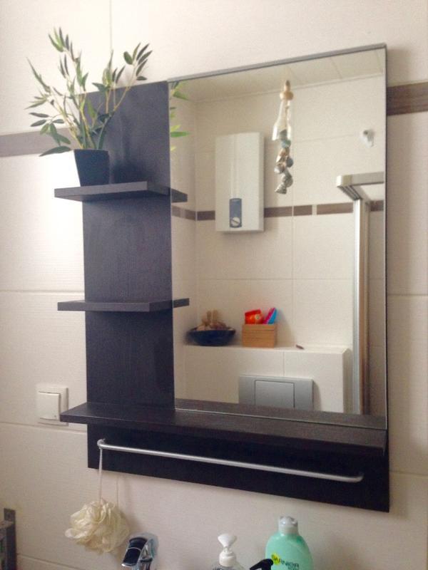 Badezimmerschrank, Waschbecken Und Spiegelschrank In Mannheim ... Badezimmerschrank Waschbecken