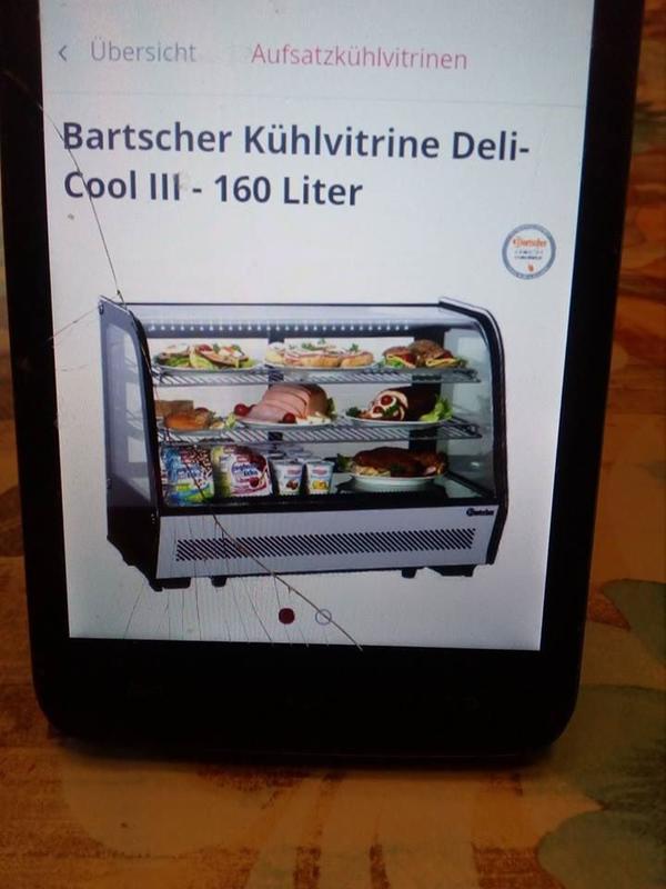 Bartscher Kühlvitrine 160 » Kühl- und Gefrierschränke