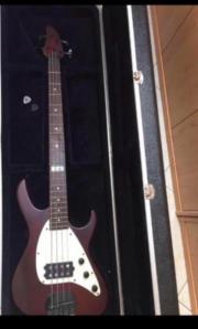 Bass Gitarre mit