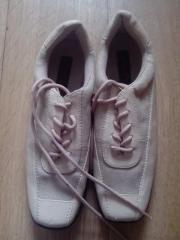 beige Schuhe Gr.