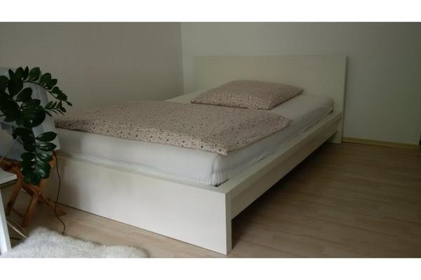 Bett 140x200 weis gebraucht for Gebrauchte betten