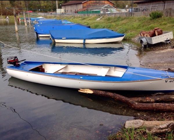 biatel boot mit 6ps motor in hard motorboote kaufen und. Black Bedroom Furniture Sets. Home Design Ideas