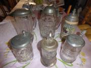Bierkrüge Keferloher Glaskrüge
