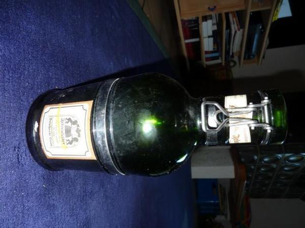 Bierkrug - Siphon - Glasflasche - Bügelverschluss