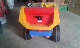 BIG Kipp-Anhänger für Kindertraktor etc: Kleinanzeigen aus Schwäbisch Hall - Rubrik Sonstiges Kinderspielzeug