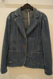 Blaues Jeansjackett Gr 42 44
