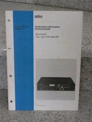 Braun Regie 510-520 original Manual