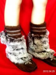 Braune Buffalo Boots
